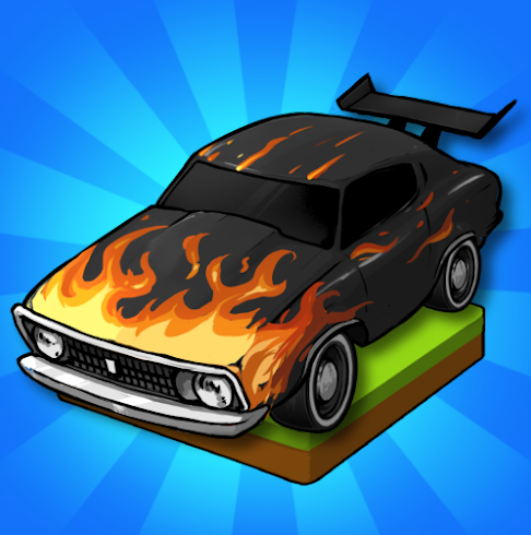 merge-muscle-car-tycoon-apk-indir