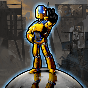 Robot Crusher Battle Ballz apk indir